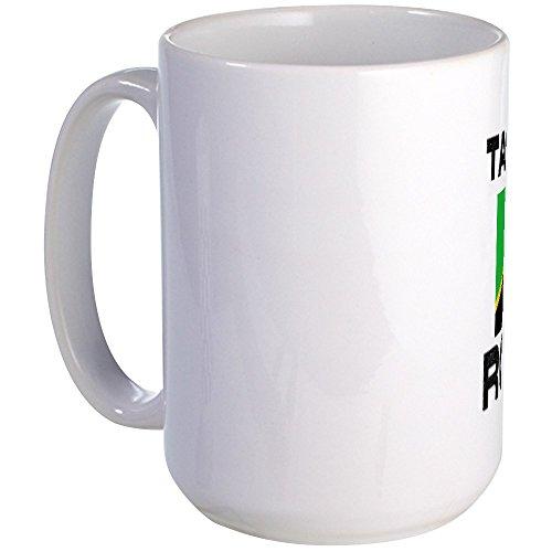 CafePress - Tanzania Rocks! Large Mug - Coffee Mug, Large 15 oz. White Coffee Cup