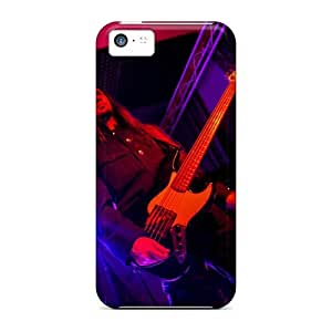 Scratch Resistant Hard Phone Case For Iphone 5c (Jpn15251AnyM) Provide Private Custom Trendy Dark Lunacy Band Skin