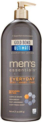 Gold Bond Moisturizing Moisturizer (Gold Bond Gold Bond Men's Everyday Essentials Lotion, 21 Ounce)