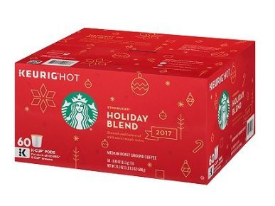 Starbucks Holiday Blend (60 K-Cups)