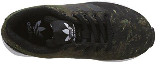 adidas ZX Flux C, Zapatillas de Deporte Unisex Niños Negro (Negbas / Negbas / Ftwbla 000)