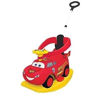 Disney Pixar Cars 2 - 4-in-1 Ride On - Lightning McQueen by KiddieLand