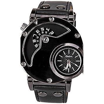 Relojes Hermosos, Oulm Hombre Reloj creativo único Reloj de Vestir Reloj de Moda Reloj Deportivo