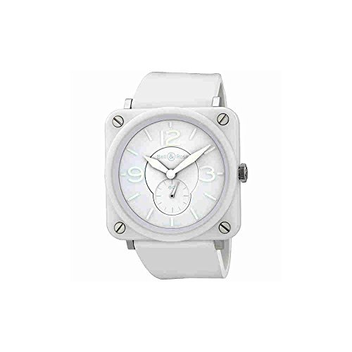 Bell-and-Ross-Aviation-White-Phantom-White-Rubber-Unisex-Watch-BRSWHCPHSRB