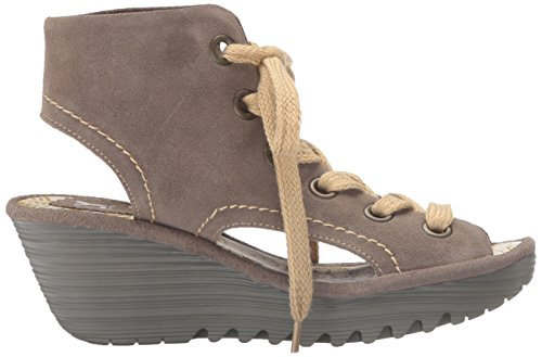 FLYA4|#Fly London Yaba702fly, Heels Sandals para Mujer Beige (taupe 004)
