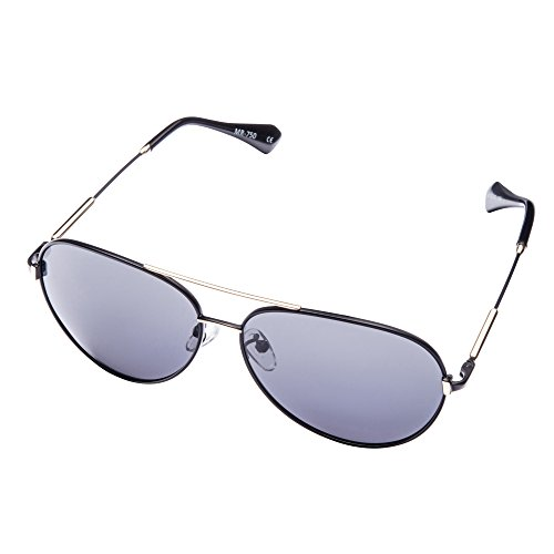 MIRA MR-750 Aviator Sunglasses - Polarized Lenses with 100% UVA and UVB Outdoor Protection - Comfortable Unisex Retro Design - Includes Presentation Box & Microfiber Carrying - Carrying Sunglasses Glasses And