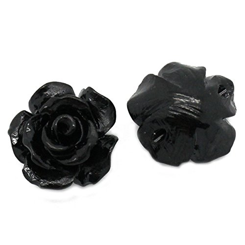 Housweety Synthetic Spacer Flower 10mmx10mm