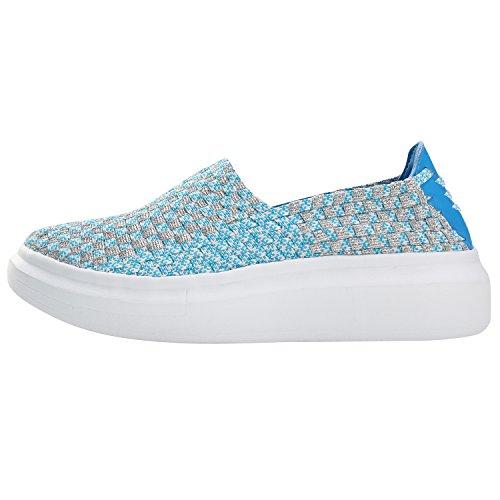 Alexis Leroy Fitness Mesh- zapatilla deportiva de material sintético elástico mujer Azul