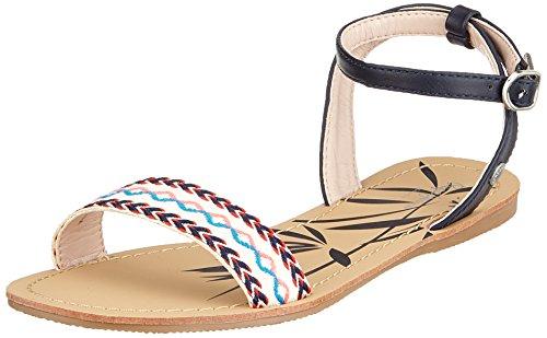 con Caviglia Jeans Donna Blu Navy alla Pepe Cinturino Delhi Munch Sandali awIq1