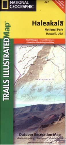 Haleakala National Park Trails (National Geographic, Trails Illustrated, Haleakala National Park: Hawaii, USA (Trails Illustrated - Topo Maps)