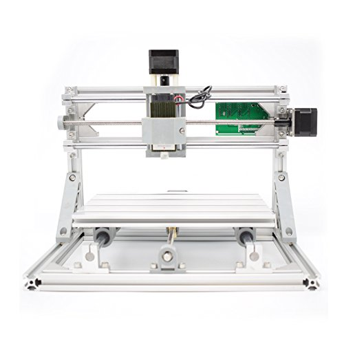 DIY 2-in-1 CNCルーターキット+ 5500mWレーザー CNC3018 ミニフライス盤 USBデスクトップ彫刻機、木材、木工用 マーキングマシン DIY 2-in-1 CNC Router Kit CNC3018 + 5500mW Laser Engraver Mini PCB Milling Machine, USB Desktop Engraving Marking Machine, For Wood, Woodworking  B06ZZL6N8N