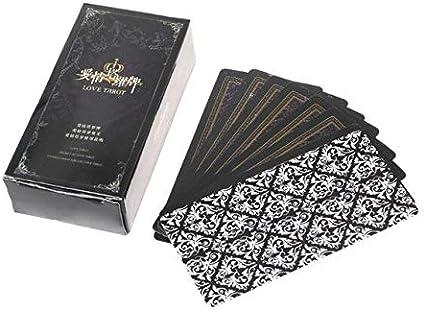Juego de mesa de Astrología de Divinación Misteriosa de OOTDTY Tarot Card Rider-Waite Tarot Deck Fate Love: Amazon.es: Oficina y papelería