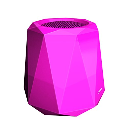 Coby Edge Portable Wireless Bluetooth Speaker Pink