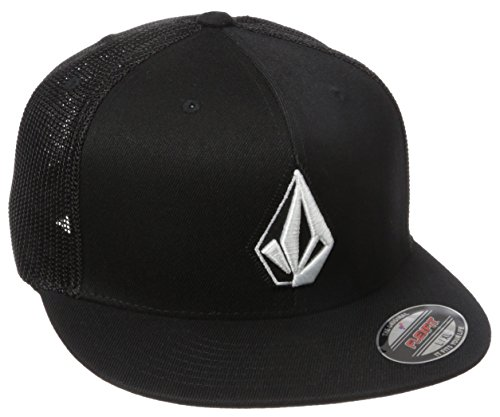 Volcom Men's Stone Pro Jfit Hat, Ink, S/M ()