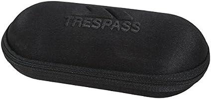 Trespass Egoistic Canvas - Estuche para Gafas de Sol, Color Negro: Amazon.es: Deportes y aire libre