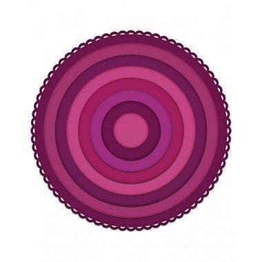 - Heartfelt Creations Die Set - Eyelet Circle & Basics Small - HCD1-7154