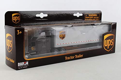 Daron Ups Tractor Trailer 1/64 - GW68061 (Toy Truck Delivery)
