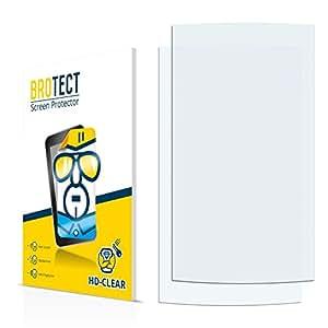 2x BROTECT HD-Clear Protector Pantalla Cowon S9 Película Protectora – Transparente, Anti-Huellas