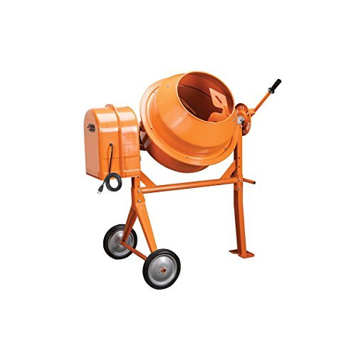 1/3 Hp Electric Cement Mixer 3.5 Cubic Ft; 10.7 Amps, 36 RPM