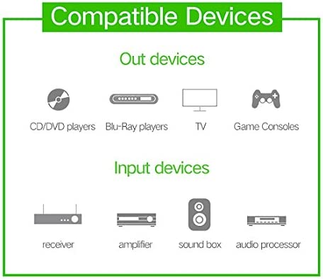 DIYオーディオおよびビデオケーブル用オーディオアダプターオーディオケーブル、小型、軽量、持ち運びが YL-Aの15メートルOD8.0mmゴールドメッキメタルヘッドトスリンク男のデジタル光オーディオケーブルへの男性、小型、軽量で持ち運びが簡単