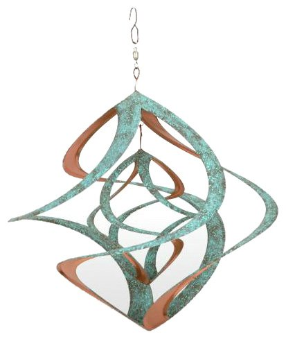 Spinner Copper (Red Carpet Studios Cosmix Copper & Patina Finished Wind Sculpture)