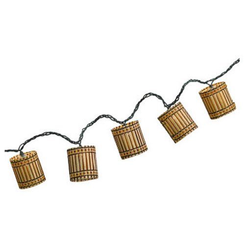 Tropical Outdoor String Lighting