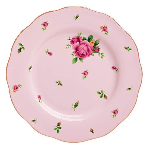 Royal Albert NCRPNK25811 China New Country Roses Vintage Formal Salad Plate, 8.1/3