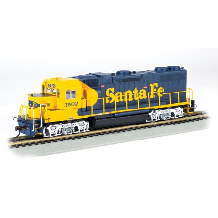 HO GP38-2 w/DCC, SF/Freight