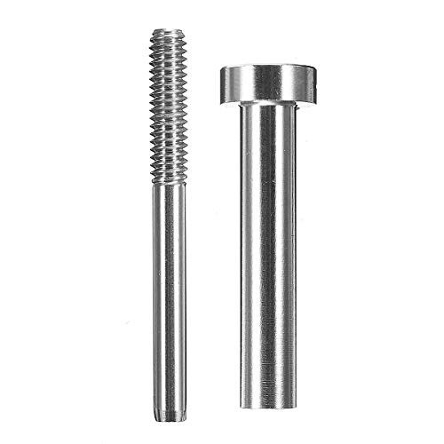 OKIl 316 Stainless steel Invisible Receiver Stud Swage Fit for 1/8