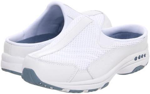 Easy Spirit Traveltime Womens Slip On Sneaker Clogs White//Lt Blue