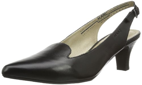 100 Schwarz Shoes Marita Marc Noir femme sac Black bride à zOcfqFc