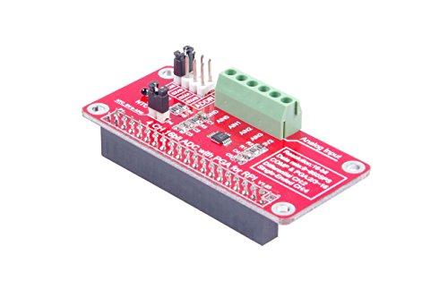 KNACRO 4-Channel 16Bit ADC With PGA For RPI Raspberry PI 16 Bits I2C  ADS1115 Module ADC 4 Channel for Raspberry Pi 3/2 Model B/B+