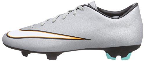 V Nike Da Fg Calcio Uomo Cr7 Victory Mercurial Scarpe Grigio UxRwx