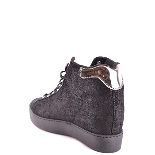 mujer zapatillas de deporte de la cu?a de LIU JO CAFé S66031 P0257 NEGRO 39 Nero Jsr7c