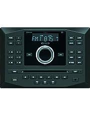 Jensen JWM62A AM FM DVD CD USB AUX App Ready Bluetooth Wallmount Stereo w/ App Control, 3-Speaker Zones / 8 Speaker Output 8X 6 Watt, Receives Bluetooth Audio (A2DP) & Controls (AVRCP) from Devices