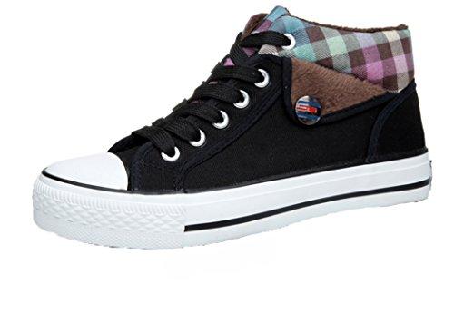 hd-womens-fashionable-suede-string-flat-heels-sneakers