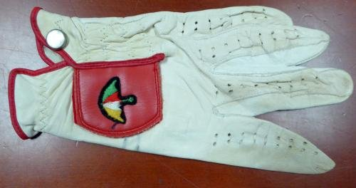 Arnold Palmer Authentic Autographed Signed Used Golf Glove #AC06028 PSA/DNA Certified Autographed Golf Gloves