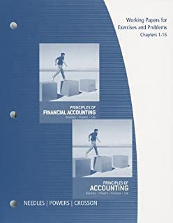Principles of accounting belverd e needles marian powers susan v working papers chapters 1 16 for needlespowerscrossons principles of accounting fandeluxe Choice Image
