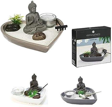 Les Colis Noir LCN 695 - Jardín Zen en Miniatura, diseño de corazón: Amazon.es: Hogar
