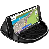 Car Phone Holder, Car Phone Mount Silicone Car Pad Mat for Various Dashboards, Anti-Slip Desk Phone Stand Compatible with iPhone, Samsung, Android Smartphones, GPS Devices and More