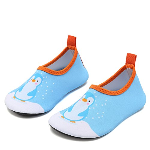 CIOR Fantiny Water Shoes Baby Boys Grils Swim Shoes Unisex Infant Barefoot Skin Aqua Socks for Beach Swim Pool ()