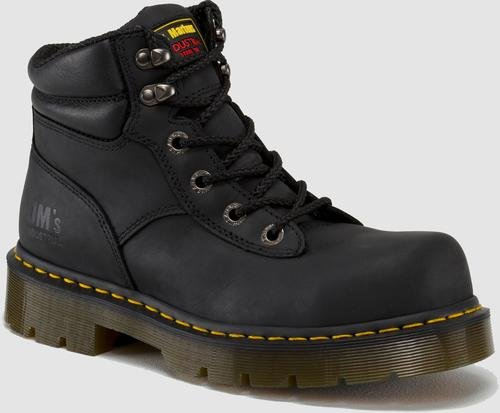 - Dr. Martens Burham ST Work Boot,Black Industrial Greasy,13 UK/15 M US Women's/14 M US Men's