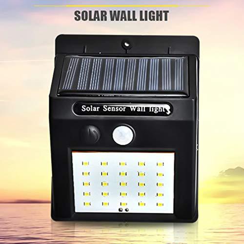 SEN 20 LED Lámpara de Pared para Exteriores Panel Solar Luz de ...