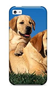 Awesome BaErnck4326dRuUd AnnaSanders Defender Tpu Hard Case Cover For Iphone 5c- Yellow Labradors