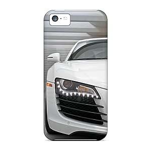 Premium Durable Audi R8 Fashion Tpu Iphone 5c Protective Case Cover