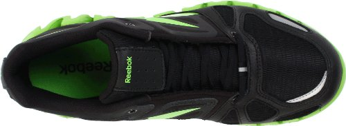 ZigDynamic Shoe Black Running High Ankle Reebok Men's Green Sushi Silver XwTn5