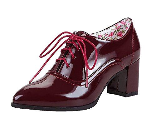 Zapatillas De Deporte Con Cordones Y Zapatos Con Cordones Para Mujer Allhqfashion