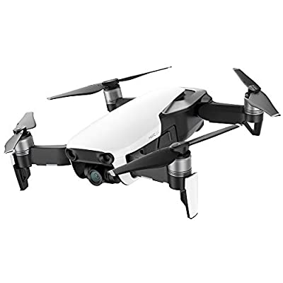 DJI Mavic Air Quadcopter Drone - Arctic White (CP.PT.00000138.01) Copilot Bundle with DJI Copilot BOSS Computer-Free in-Field Direct 2TB Backup and Power Bank and Custom Mavic Hard Shell Backpack