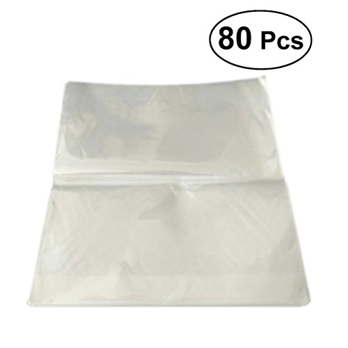 ULTNICE Cellophane Bags Cello Wrap Clear Pouch Bread Loaf Bags for Storage About 80pcs by ULTNICE