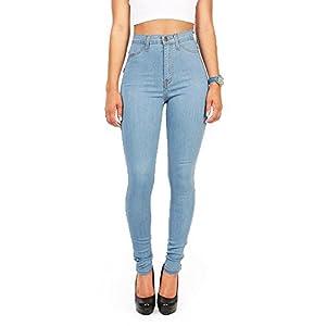 Vibrant Junior's High Waist Skinny Jeans